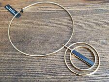 NEW JENNY BIRD POLLUX Choker Necklace Gold Black Resin