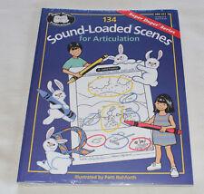 Super Duper BK251 134 Sound Loaded Scenes For Articulation Educational Workbook