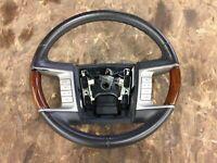 2006 lincoln zephyr steering wheel 2006-2009