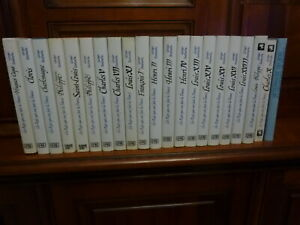 GEORGES  BORDONOVE , les rois qui ont fait la France , collection de 21 volumes