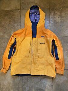 Patagonia Jacket Gore-Tex Men's L Orange
