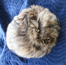 Coach 83199 Authentic Finn Raccoon Long Fur Hat / Natural / MSRP 698.00 / XS-S