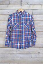 Vintage Tartán de cuadros camisa de franela (S)