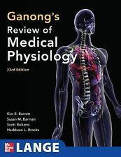 GANONG'S REVIEW OF MEDICAL PHYSIOLOGY (LANGE) By Barrett - BRAND NEW