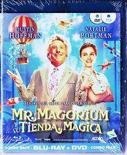 MR. MAGORIUM Y SU TIENDA MÁGICA.  BLU-RAY y DVD. Tarifa plana en envío, 5 €.
