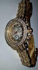 GREAT COND. Joe Rodeo 10.00ct Gold Tone Rio Diamond Watch JRO19 LOWEST $$$ EBAY!
