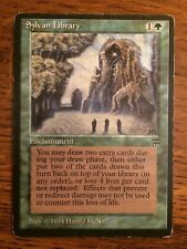 Sylvan Library Legends MP Moderate Play MTG Magic The Gathering