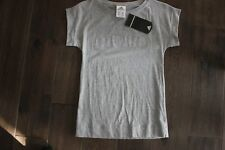 ADIDAS*Flash T-Shirt*Grey w/Silver studs*Junior Girls Size Small*Made in CANADA*
