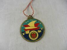 Ancienne médaille de carnaval émaillée, Fervents du carnaval, Hombourg Haut
