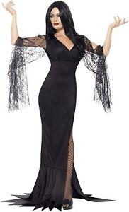 Smiffys Adult Women's Immortal Soul Costume, Dress, Legends of Evil, Halloween,