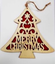 Wooden Christmas Tree Christmas Tree Ornaments