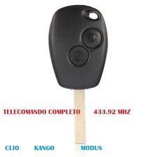 CHIAVE TELECOMANDO RENAULT433.92 MHZ PER CLIO KANGO MODUS TWINGO