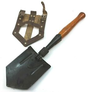 ROMANIAN ARMY SHOVEL / SPADE ENTRENCHING TOOL & POUCH