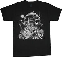 Fantasy graphic tees dungeons wizard dragons magic decal design t-shirt for men