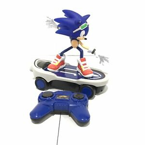 Sonic Free Riders Sonic The Hedehog Rc Radio Control Toy