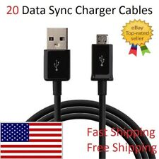 20x Wholesale Lot Micro USB Charger Cable Data Sync for Android Samsung LG ZTE