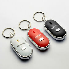 Whistle Schlüsselsucher zu piepen blinken Schlüsselbund Fern verloren schwa W4K4