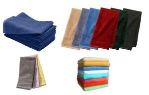 6XMIX COLORS Luxury 100% Egyptian cotton super soft HAND GYM YOGA towels 80X40CM