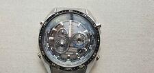 CASIO EQS-500B Solar World/Dual time Alarm Day Date Chrono GMT Watch Never worn