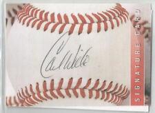 Minnesota Twins / Cincinnati Reds CARL WILLIS autographed Sweet Spot Card