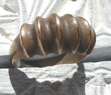 Latón marroquí empañada hombre hecho a mano con forma de cresta anillo UKT1/2