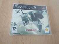 Ace Combat Squadron Leader Sony PlayStation 2 game, promo, full game PAL PS2