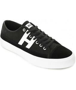 HUF Men's Shoes Hupper 2 Lo Black / White VC00010 $70 (S)