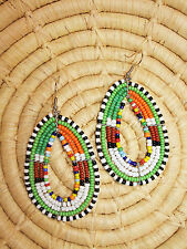 New African Maasai Earrings Masai Massai Africa S/M jemo425