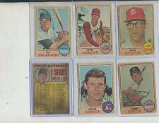 1968 Topps Venezuela Baseball Lot of 30 Different
