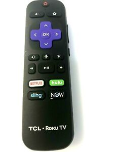 TCL Roku TV RC-AL5 06-WFZNYY-ARC580 Remote Control (original)