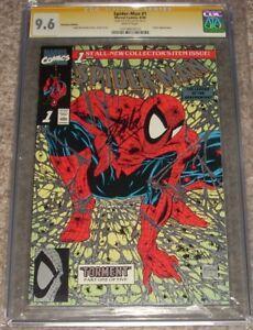 1990 Marvel Comics Spider-man 1 CGC SS 9.6 Stan Lee Signed Platinum Edition