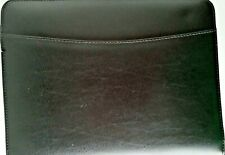 Franklin Covey Leather Organizer Black 7 Ring