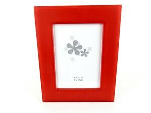 Translucent Color Picture Frame, 3x5 Desktop Red or Orange, Sweda# PF88