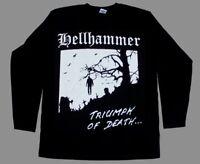 HELLHAMMER - Triumph of Death - Longsleeve Shirt - Metal Thrash Kreator Venom