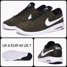 2T18 Nike SB Air Max Bruin Vapor 882097-312, UK 6 EUR 40 US 7 Cargo Khaki