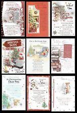 SON ~ Quality CHRISTMAS CARD ~ FAB VERSES CHOICE OF DESIGN