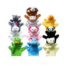 Cute Animal Hand Puppets Toys Set for Kids Children, Set of 10 K5M4