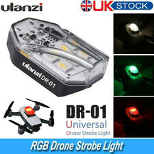 ulanzi DR-01 Mini Drone Strobe Light (White/Red/Green) Built-in Battery UK