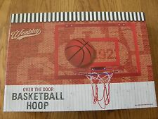 Wembley Over the Door Basketball Hoop-Backboard,Rim & Ball-NBA Playoff,March Mad