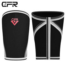 CFR Pair 7mm Squats Weight Lifting Knee Sleeves Support Crossfit Patella Brace