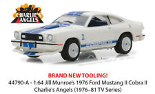 Greenlight 1:64 Hollywood Charlie's Angels 1976 Ford Mustang II Cobra II 44790-A