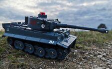 B-Ware RC carros alemán Tiger disparo función teledirigido tanques