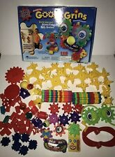 Learning Curve Goofy Grins Magnetic Gears 115 Pieces Motorized Faces Building