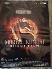 Mortal Kombat decepción *** bolsa transporte/PVC-bolsa/bolsa ** Klein ** rar ** raramente ** Top