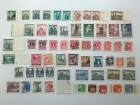 Old stamps from Austria and Czechoslovakia from the 40s #22