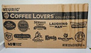 Keurig K-Cup Coffee Lovers' Collection 60 KCup Pods BB 8/2021