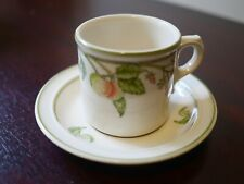 Wedgwood Wild Apple Cup and Saucer several available