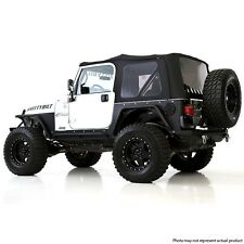 Smittybilt Premium Replacement Soft Top 97-06 Jeep Wrangler TJ 9974235 Black