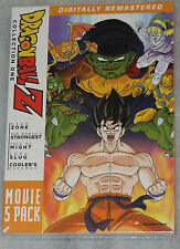 Dragon Ball Z: Movie Pack Collection One 1 (Movies 1-5) - DVD Box Set -  SEALED