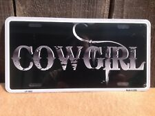 Cowgirl Wholesale Novelty License Plate Bar Wall Decor